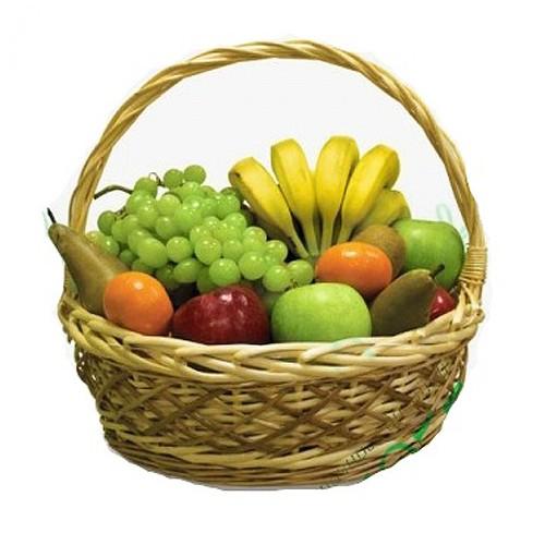 Купить на заказ Заказать Корзина с фруктами 4 с доставкой по Экибастузу с доставкой в Экибастузе