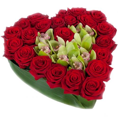Купить на заказ Заказать Сердце 10 с доставкой по Экибастузу с доставкой в Экибастузе