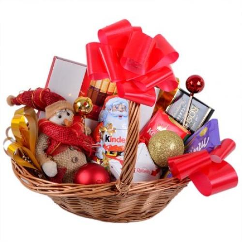 Купить на заказ Заказать Корзина с подарками с доставкой по Экибастузу с доставкой в Экибастузе