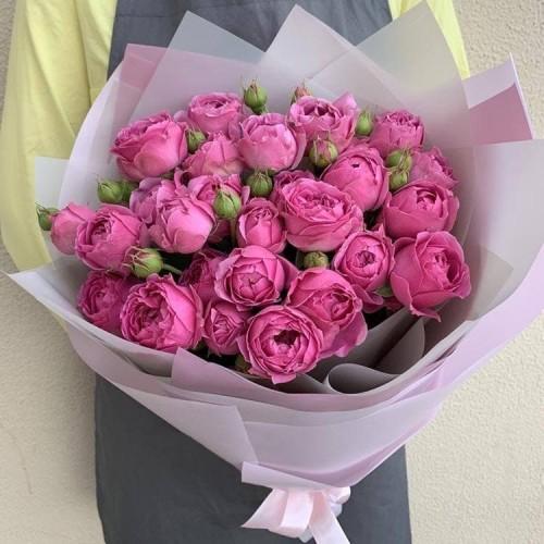 Купить на заказ Заказать 25 пионовидных роз с доставкой по Экибастузу с доставкой в Экибастузе