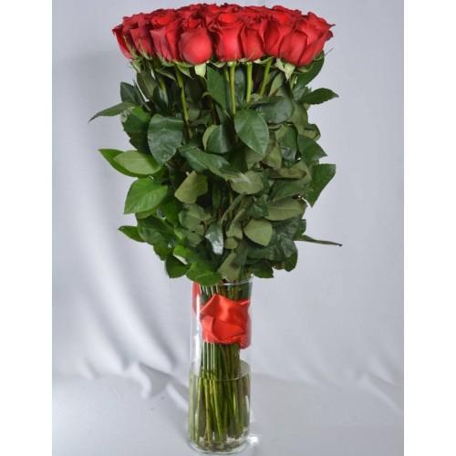 Купить на заказ Заказать 51 метровая роза с доставкой по Экибастузу с доставкой в Экибастузе