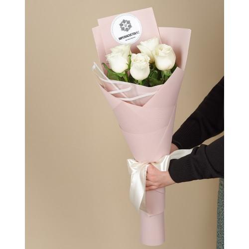 Купить на заказ Заказать Букет из 5 роз с доставкой по Экибастузу с доставкой в Экибастузе